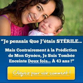 banniere le miracle de la grossesse